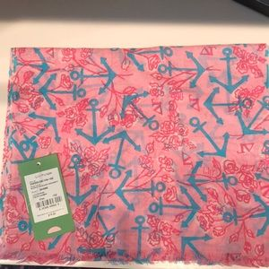 Lilly Pulitzer Sorority Scarf